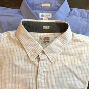Bundle of J. Crew Men's Slim Fit Button Down Shirt